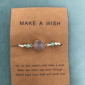 Make a wish Bracelet NWT